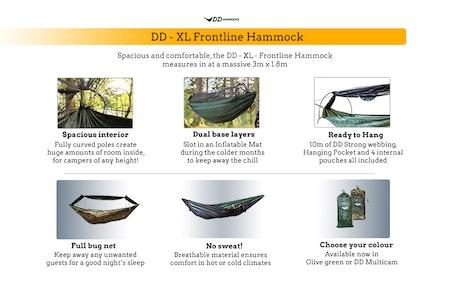 DD XL FRONTLINE HAMMOCK