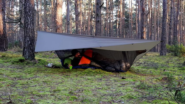 BUSHMEN TARP 3X2 ULTRALIGHT