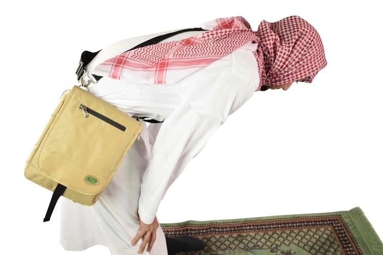 Ryggsäck för Hajj & Umrah Svart
