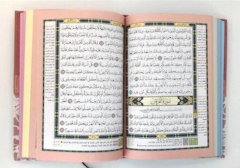 Spets Quran Ljusbrun