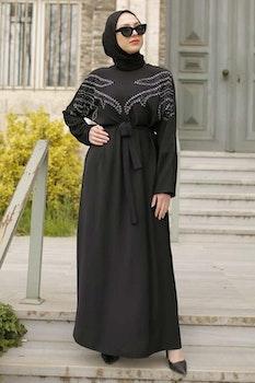 Zahra Abaya Svart