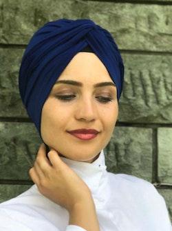 Twist Turban Marinblå