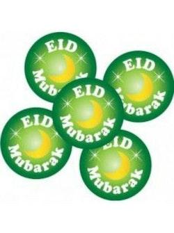 Eid Mubarak Grön Knappnål