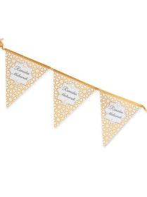 Ramadan Mubarak Flaggor Guld