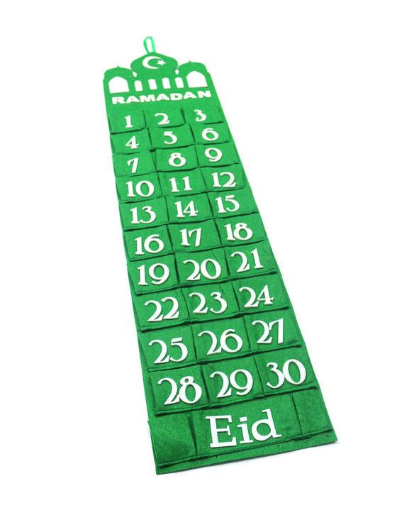 Ramadankalendern Grön Moské