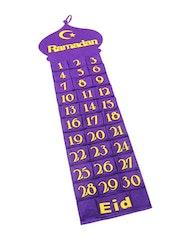 Ramadankalendern Lila Moské