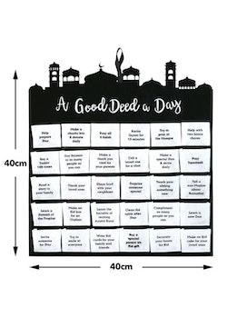 "Ramadankalendern ""A Good Deed A Day"""