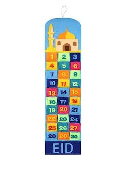 Ramadankalendern Moské Multifärgad