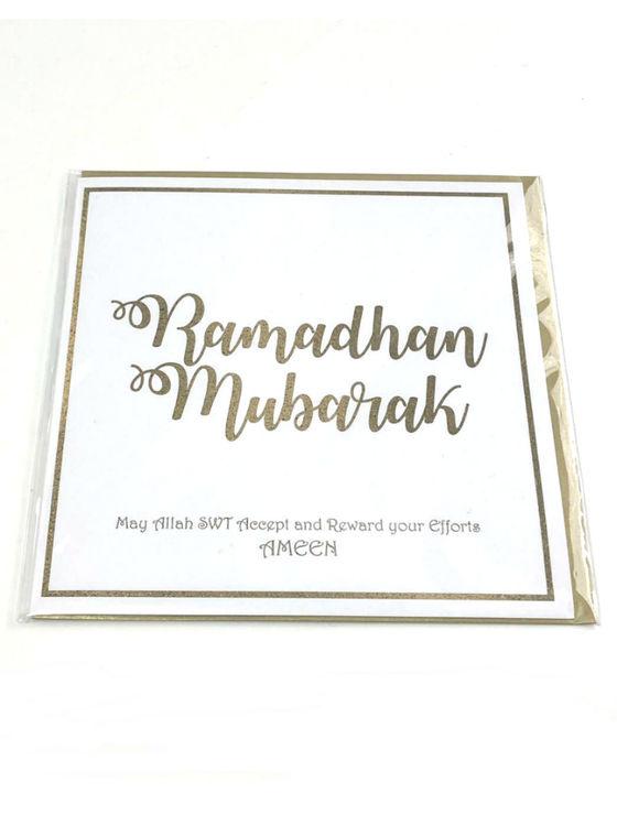 Ramadhan Mubarak Vykort