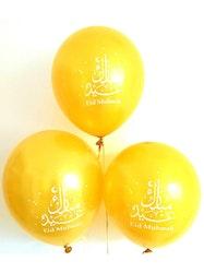 Eid Mubarak Ballonger Guld