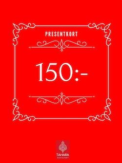 Presentkort 150:-