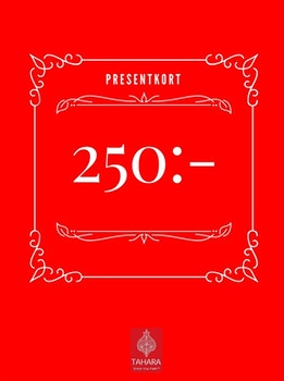 Presentkort 250:-