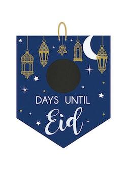Dagar kvar till Eid Skylt