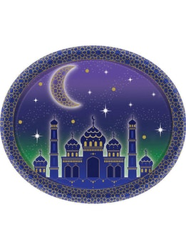 Eid / Ramadan Tallrikar Oval 8st