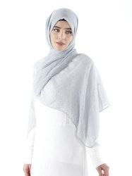 Aisha Sjal Ljusgrå
