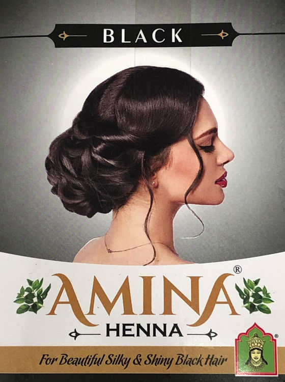 Amina Henna Hårfärg Svart