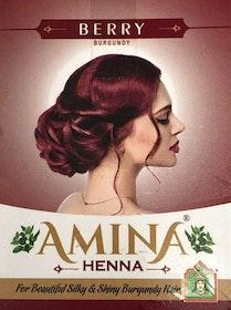 Amina Henna Hårfärg Vinröd