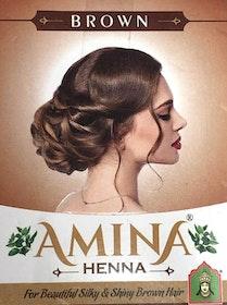 Amina Henna Hårfärg Brun