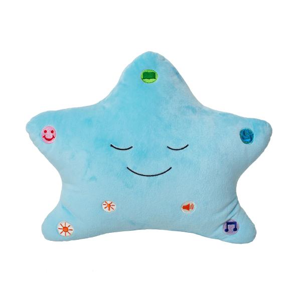 Min Dua-kudde med ljus och ljud Blå