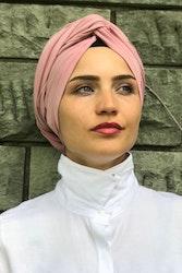 Twist Turban Viskos Rosa