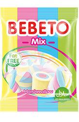 Bebeto Mix Marshmallow 275g