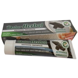 Dabur Herbal Whitening Activated Charcoal Tandkräm