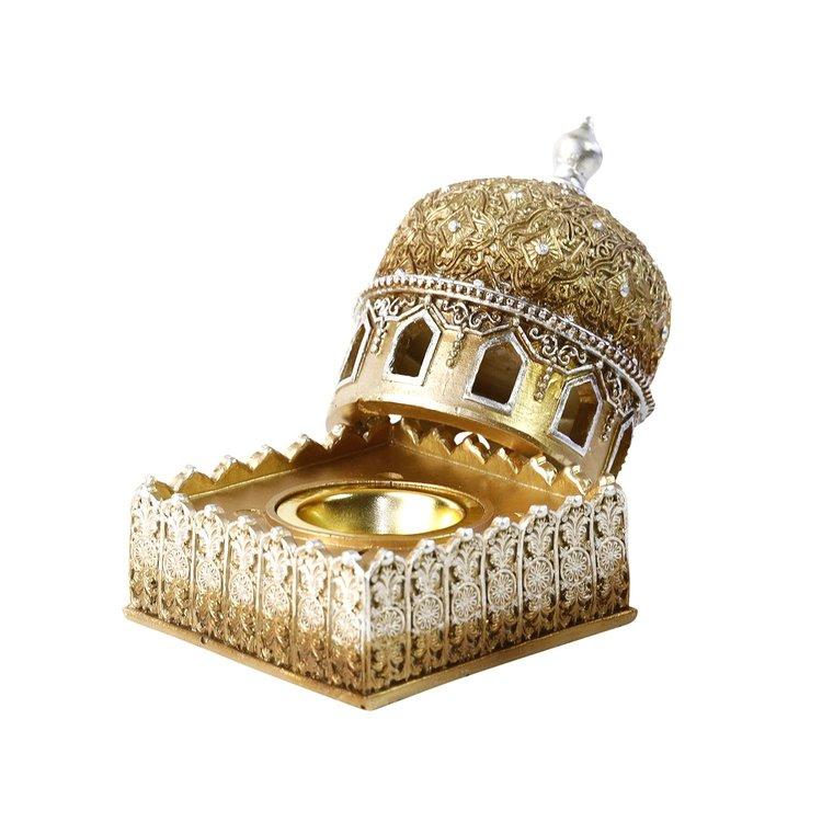 Moskè Rökelsehållare Guld