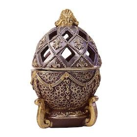 Egg Style Rökelsehållare Brun