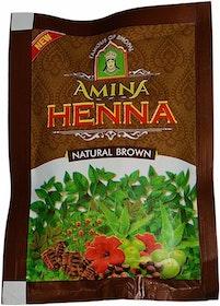 Amina Henna Naturbrun 25g