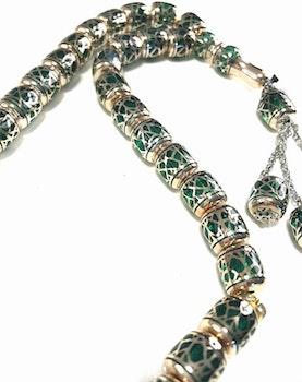 Emerald Radband Grön