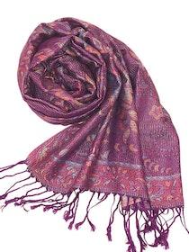 Paisley Pashmina Purple Rain