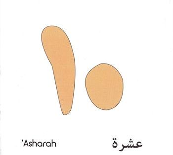 Jag räknar till tio på arabiska