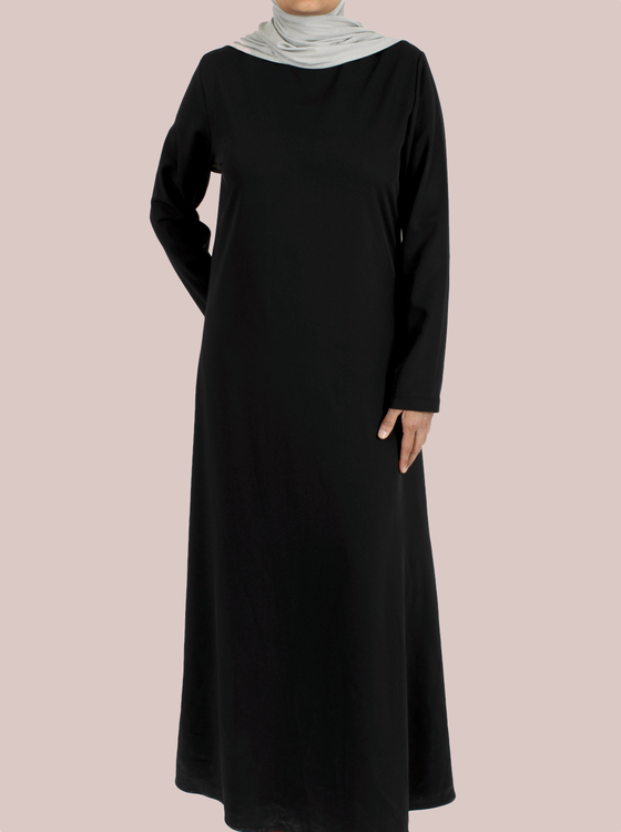 Nordic Royal Abaya Black