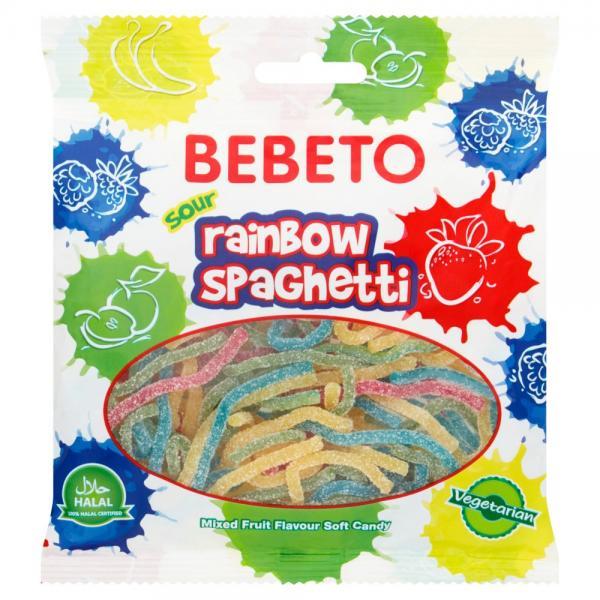 Bebeto Rainbow Spaghetti