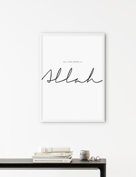 All You Need is Allah Poster