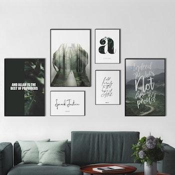 Skogs Kombination Poster