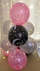Eid Mubarak Ballonger 3 Färger