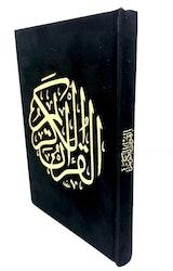 Sammet Koran Svart