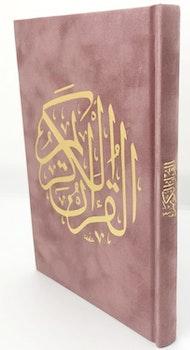 Sammet Koran Dusty Pink
