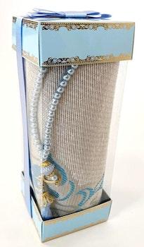 Gift Set Bönematta + Radband Turkos