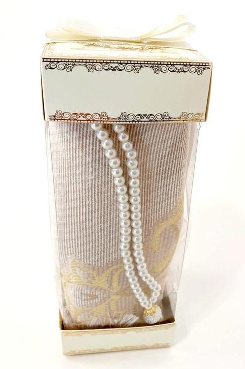 Gift Set Bönematta + Radband Guld
