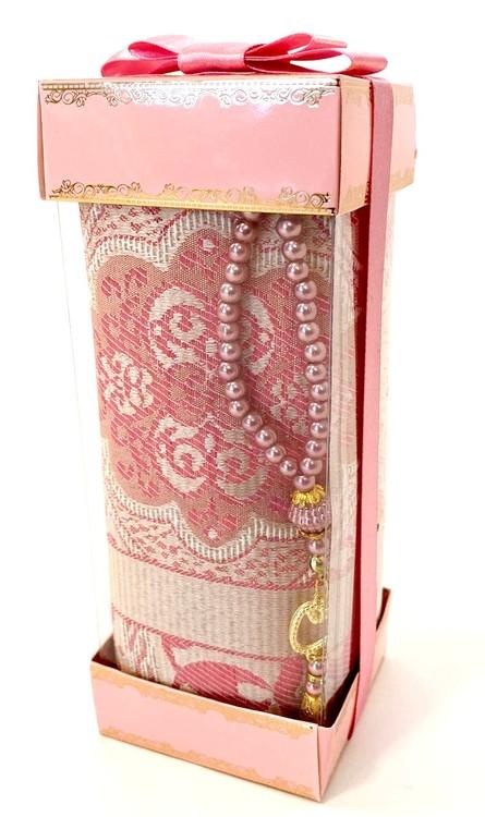 Gift Set Bönematta + Radband Rosa