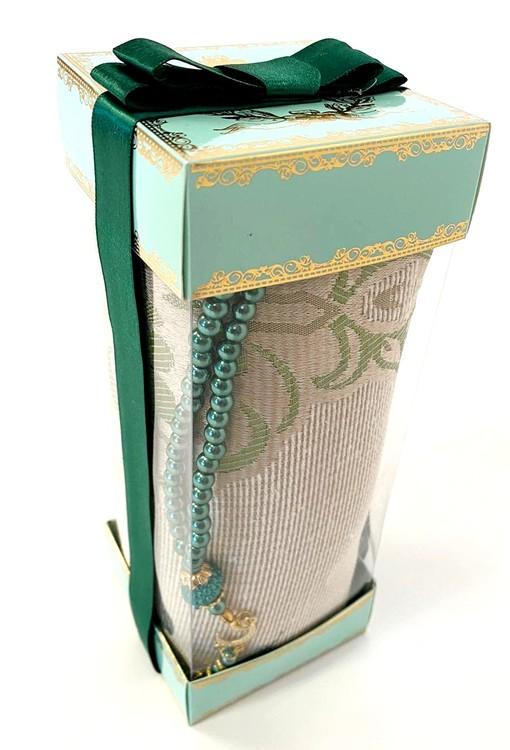 Gift Set Bönematta + Radband Grön