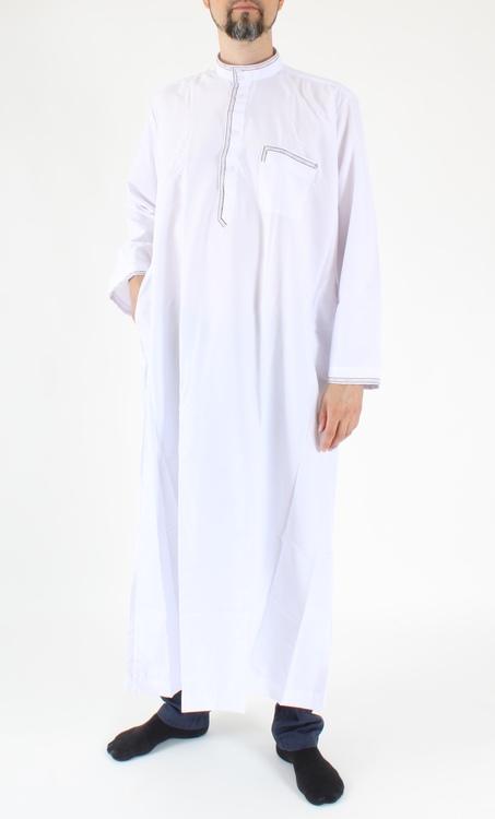 Saudi Thobe Broderad