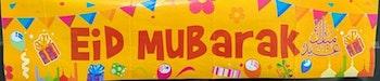 Eid Mubarak Banner Gul