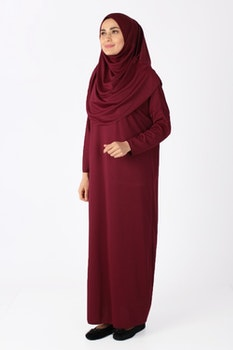Sinam Bönekläder Jersey Vinröd