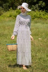 Alma klänning Vit