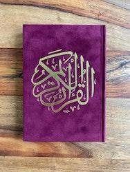 Sammet Koran Vinröd