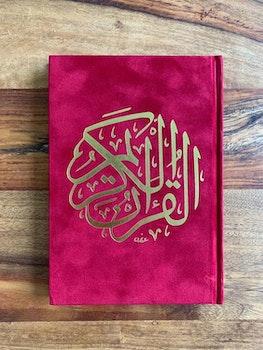 Sammet Koran Röd