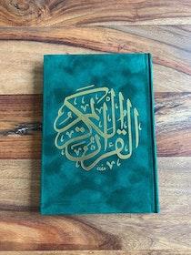 Sammet Koran Mörkgrön